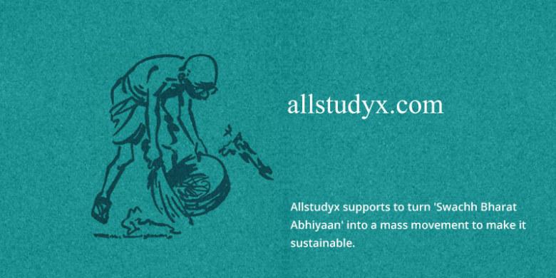 Allstudyx Swachh Bharat Abhiyaan - a Mission