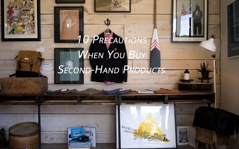 Guide to buy second-hand products