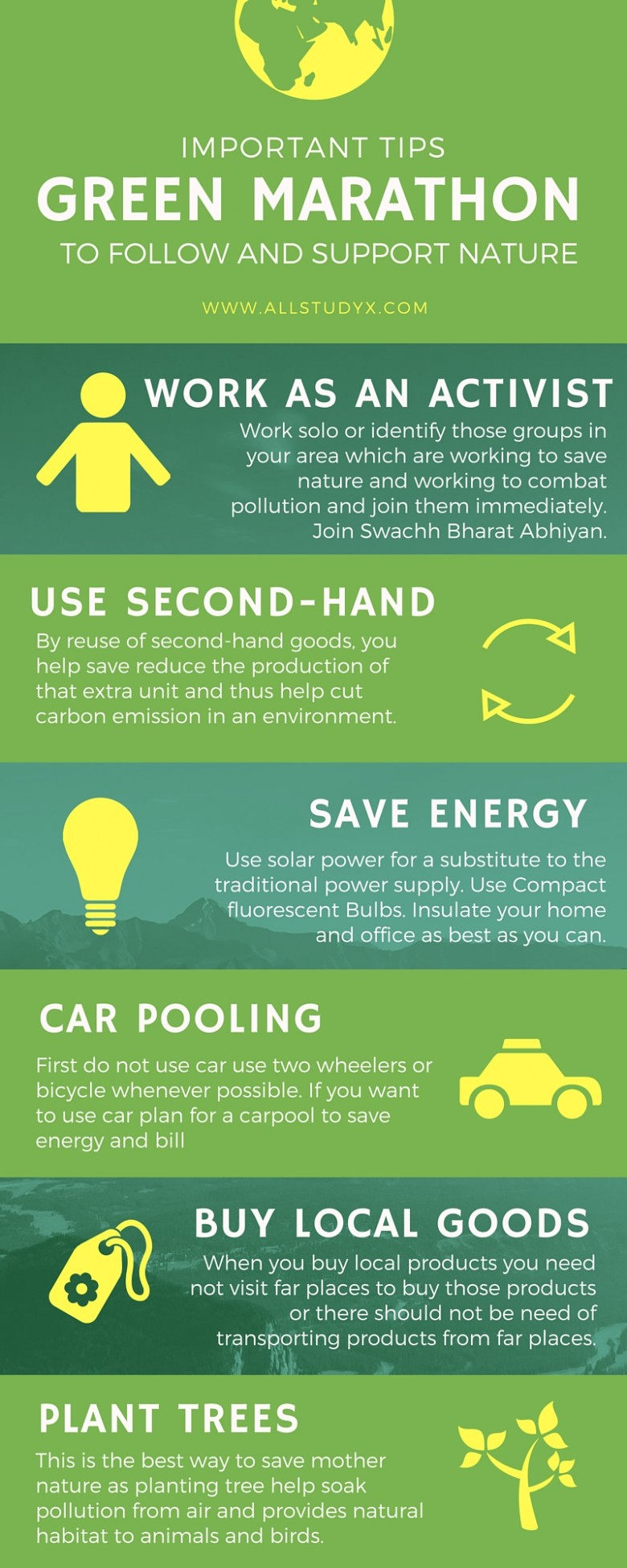 Infographic: Important Tips To Follow And Support Nature