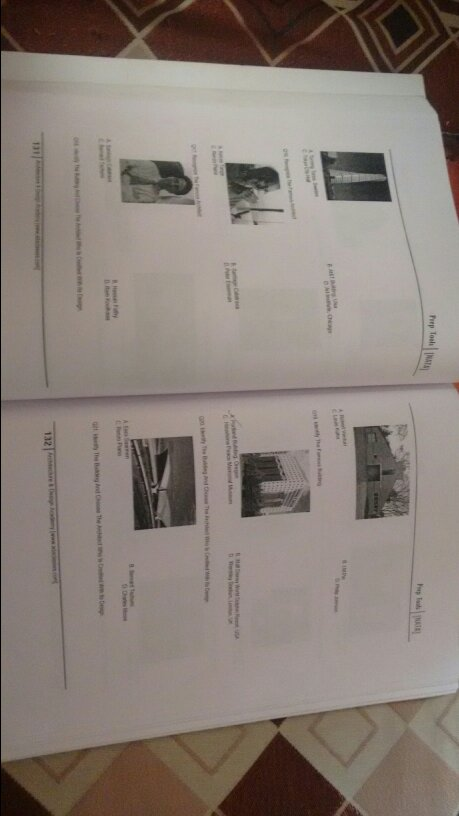 Study material for NATA b.arch