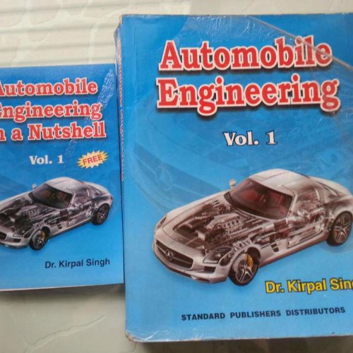 Automobile Book By Kirpal Singh